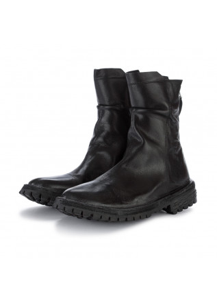 womens ankle boots moma bufalo smart black
