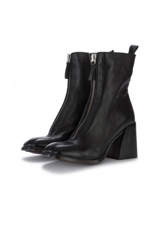 womens ankle boots moma montone lux black