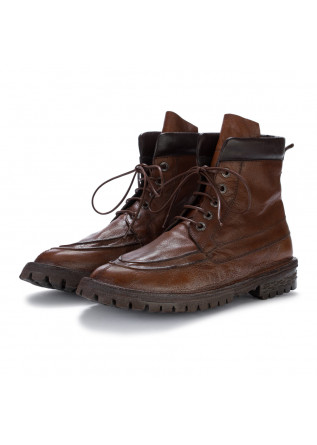mens ankle boots moma bufalo cuoio brown