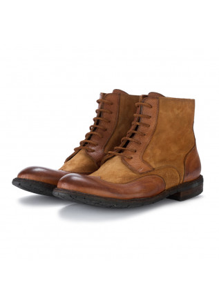 mens ankle boots manovia 52 velour brown
