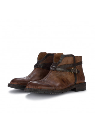 womens ankle boots manovia 52 nut brown