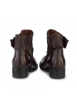 WOMEN'S ANKLE BOOTS MANOVIA 52   9920 LUX 576 BROWN