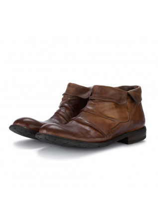 mens ankle boots manovia 52 nut brown