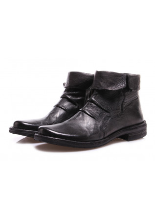 womens ankle boots manovia 52 lux black