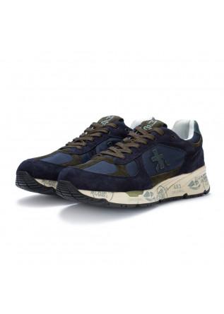 mens sneakers premiata mase blue green