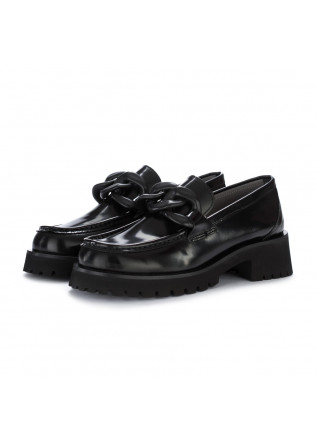 wedge shoes poesie veneziane abrasivato black
