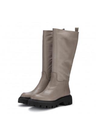 womens boots poesie veneziane savana taupe grey