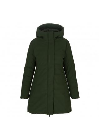 womens puffer jacket save the duck matt leyla green