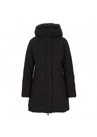 womens puffer jacket save the duck matt leyla black