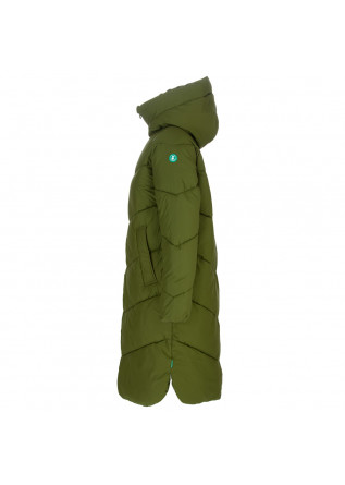 WOMEN'S PUFFER JACKET SAVE THE DUCK | RECY13 JACELYN GREEN