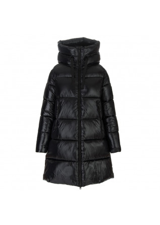 womens puffer jacket save the duck isabel black