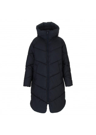 womens puffer jacket save the duck jacelyn blue
