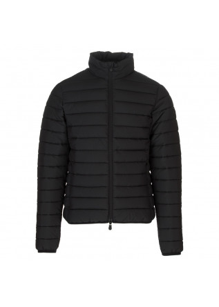 mens puffer jacket save the duck lewis black