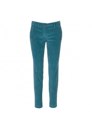 pantaloni donna masons new york verde acqua