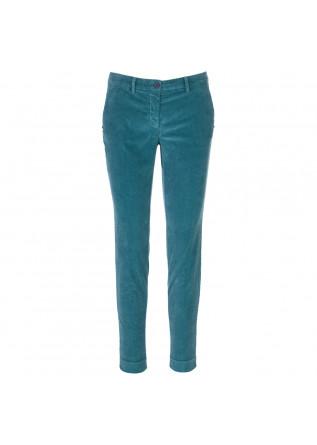 womens trousers masons new york aqua green