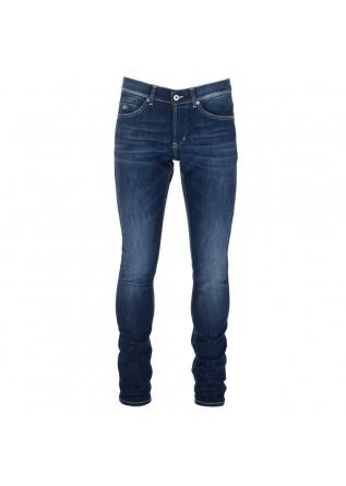 jeans uomo dondup george blu denim