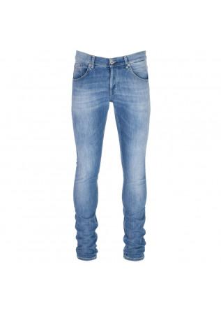 jeans uomo dondup ritchie azzurro