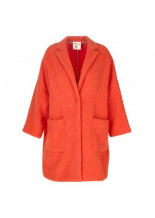 capotto donna semicouture arancione