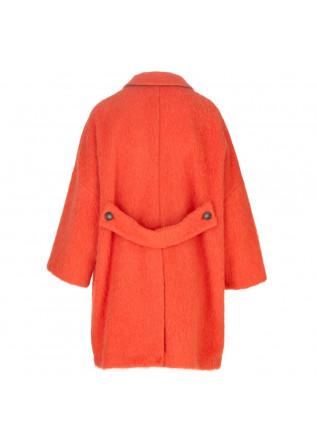 WOMEN'S COAT SEMICOUTURE | Y1WV21 ORANGE