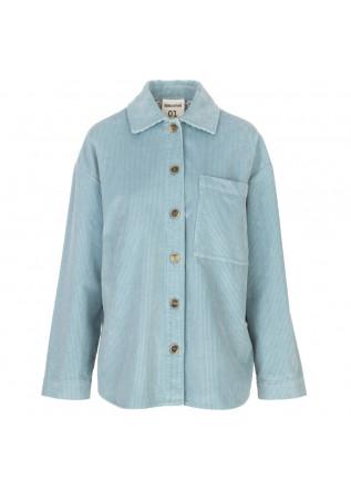womens jacket semicouture light blue