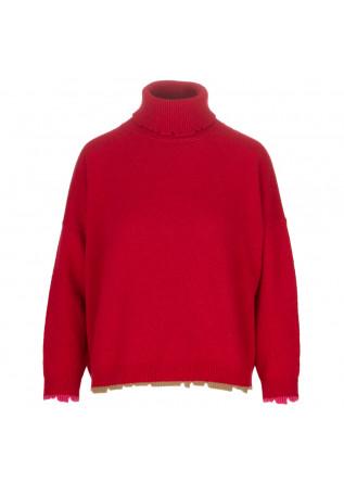 maglione donna semicouture rosso
