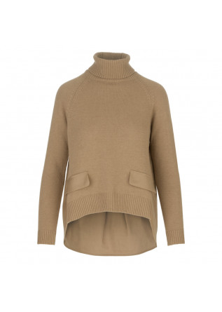 womens sweater semicouture light brown