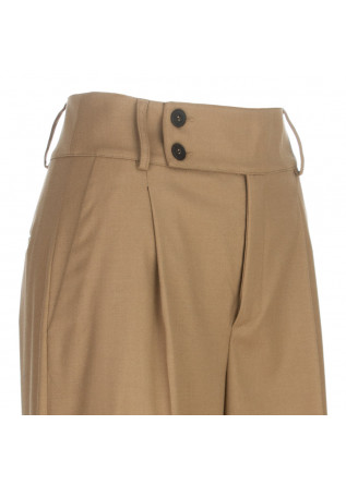 WOMEN'S PALAZZO PANTS SEMICOUTURE   Y1WI04 BROWN