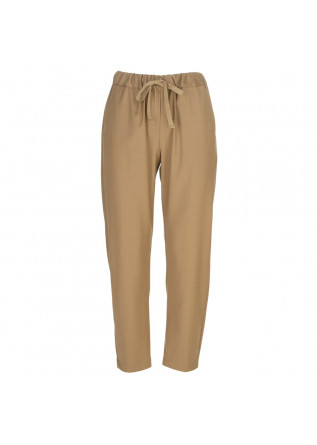womens pants semicouture light brown