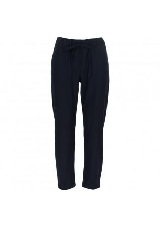 pantaloni donna semicouture blu scuro