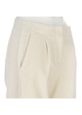 WOMEN'S PANTS SEMICOUTURE | Y1WR12 CREAM WHITE