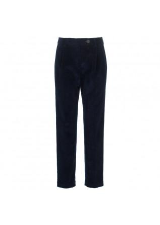 womens trousers semicouture dark blue