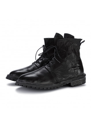 mens ankle boots moma bufalo black