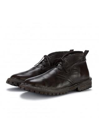 mens ankle boots moma bufalo dark braun