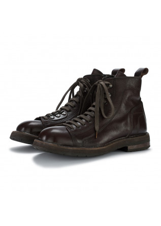 mens ankle boots moma toscano dark brown