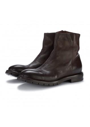 mens ankle boots lemargo cervo teak brown