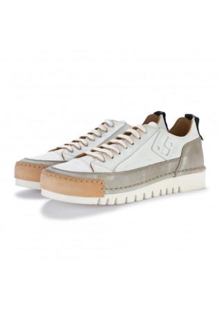 sneakers uomo bng real shoes la mokaccino bianco