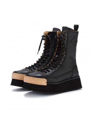 damenstiefel bng real shoes la rock schwarz