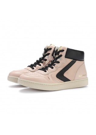 womens sneakers valsport super davis mid pink
