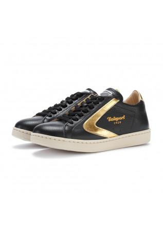 sneakers donna valsport tournament nero oro