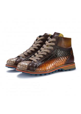 mens ankle boots lorenzi bugatti beige brown