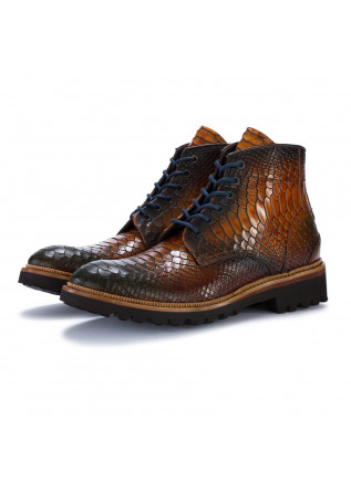 mens ankle boots lorenzi fresh cuoio brown
