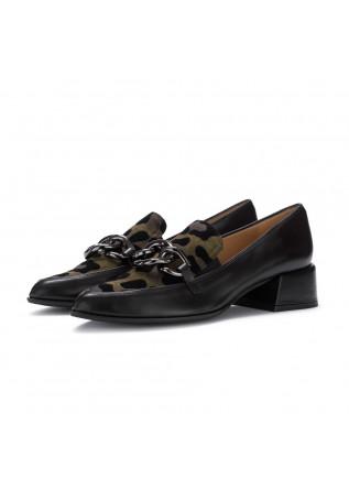 womens heel shoes il borgo firenze black leo
