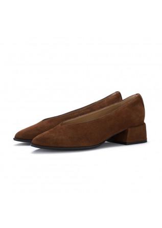 scarpe tacco il borgo firenze velukid sigaro marrone