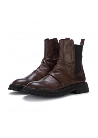 womens ankle boots poesie veneziane florida brown