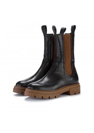 womens chelsea boots mjus black brown