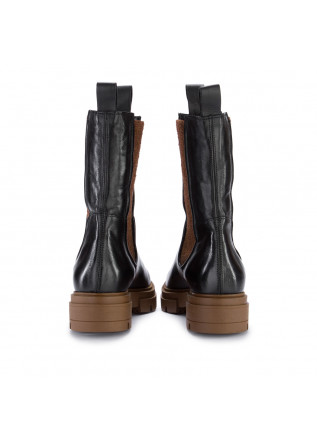 WOMEN'S CHELSEA BOOTS MJUS | M79225 BLACK BROWN