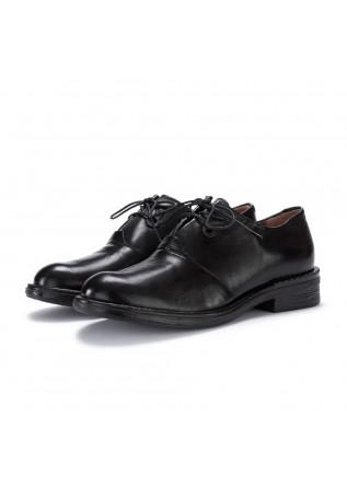 scarpe allacciate donna mjus nero