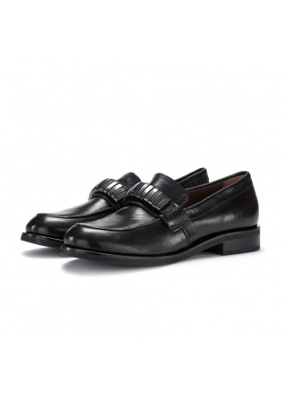 womens loafers mjus black