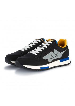 mens sneakers sun68 niki solid black