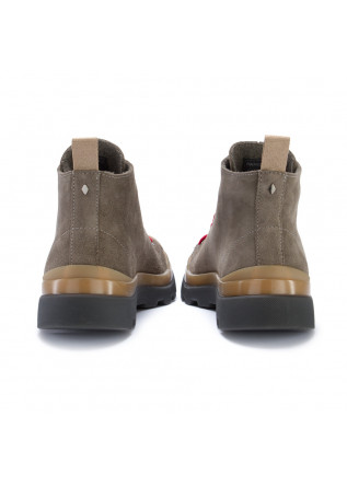 MEN'S ANKLE BOOTS PANCHIC | GREY RED
